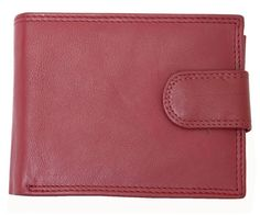 Men's Dark Red Nice Quality Genuine Leather Wallet Kabana *** Details can be found by clicking on the image. (This is an Amazon Affiliate link and I receive a commission for the sales)