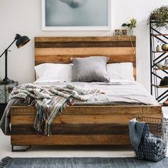 Lewiston Queen Bed - Beds & Bedheads - Bedroom