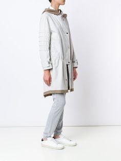 Callens hooded parka coat