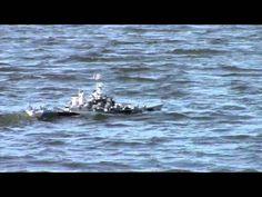 Battleship Missouri rough seas ahead!