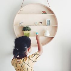 Display your favorite little things in our Round dorm in plywood: http://www.fermliving.com/webshop/search/kids-room/kids-hooks-and-hangers/the-round-dorm.aspx