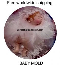 How to make a fimo baby babymold babymould sculpey craftsy sculpeybaby fimodollmold sculpeybabymold sculpeydoll fondantbaby gumpastebaby doll clay