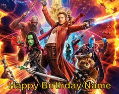 Image result for guardians of the galaxy cakes