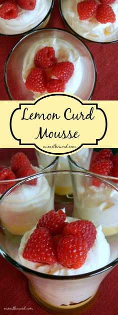 This 10 minute Spring/Summer dessert is light, refreshing and one of our favorites. Any lemon lover will eat this up and ask for seconds!
