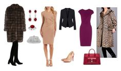 evening by nadia-skibina on Polyvore featuring мода, Roland Mouret, Charlotte Russe, Manzoni 24, Topshop, Yves Saint Laurent, Balenciaga, Nina and Bling Jewelry