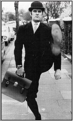 The Minister of Silly Walks (John Cleese). One does not simply silly walk into…