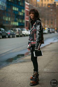 Adesuwa Aighewi Model Off Duty by STYLEDUMONDE Street Style Fashion Photography