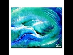 """Abstract Art Painting Video Lesson """"Red Dolphin"""" by Peter Dranitsin AbstractArtLesson.com - YouTube"""