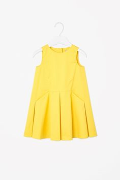 COS | Pleated cotton dress