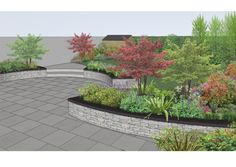 Dublin, Ireland www. Backyard Pool Designs, Backyard Garden Design, Patio Design, Luxury Landscaping, Front Yard Landscaping, Landscaping Design, Landscape Design Software, Backyard Plants, Ground Cover Plants