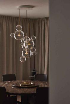 Dining Room Lighting, Home Lighting, Modern Lighting, Lighting Design, Pendant Lighting, Room Lights, Hanging Lights, Ceiling Lights, Wood Chandelier