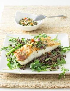 Halibut with Green O