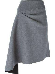 DKNY jupe à design asymétrique Skirt Pants, Dress Skirt, Robes Glamour, High Skirts, Full Skirts, Women's Skirts, Moda Chic, Fashion Details, Style Fashion