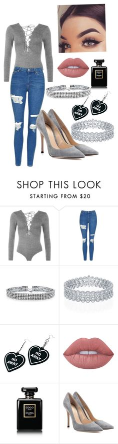 """""""Untitled #38"""" by midnightroads on Polyvore featuring WearAll, Topshop, Bling Jewelry, Witch Worldwide, Lime Crime, Chanel and Gianvito Rossi"""
