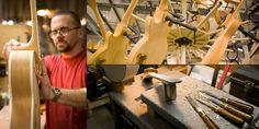 Mengenal macam-macam jenis kayu  yang sering digunakan dalam proses pembuatan gitar dan bagian gitar seperti Body, Neck, dan fretboard.