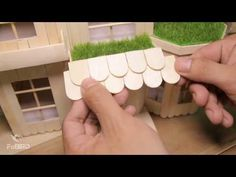 DIY: How To Make a Popsicle Stick Chair and Table - YouTube