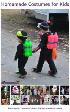 Homemade Costumes for Kids
