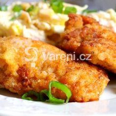 Fotografie receptu: Nejúžasnější jogurtové řízky Baked Potato, Potatoes, Meat, Chicken, Baking, Ethnic Recipes, Patisserie, Potato, Backen
