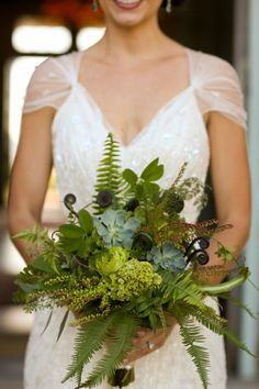 Greenery bouquet: http://www.stylemepretty.com/2015/04/22/unique-ideas-for-an-eco-chic-wedding/