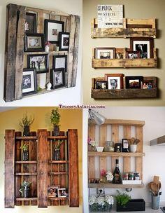 1000 images about muebles rusticos on pinterest pallets - Decoracion con pallets ...