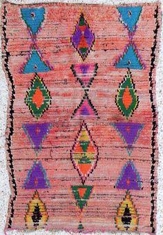 Pink Moroccan Rug