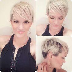 Mónika Robinson Short Hairstyles - 9