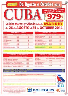 La HABANA + Cayo Santa María, salidas del 11 al 25 de Octubre dsd Madrid (8d/6n) p. final dsd 1.329€ ultimo minuto - http://zocotours.com/la-habana-cayo-santa-maria-salidas-del-11-al-25-de-octubre-dsd-madrid-8d6n-p-final-dsd-1-329e-ultimo-minuto/
