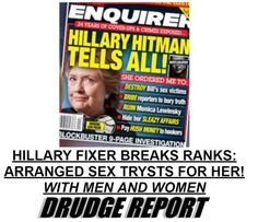 EXPOSED=>HILLARY HITMAN Breaks Silence: Reveals Her Sex Trysts With Men AND Women!  Jim Hoft Oct 18th, 2016
