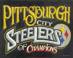 Pittsburgh Steeler print