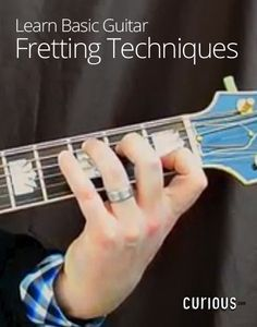 Teaching yourself how to play guitar? Watch this lesson for tips on basic fretting techniques. You'll learn principles such as finger and hand positioning.