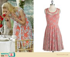 This dress that Lemon (Jaime King) wore on Hart of Dixie is a few years old and designed by Nanette Lepore.  ModCloth have this similar one for $52.99