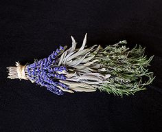 Bring the spirit of Italy and California cuisine into your own home with this rosemary, sage, and lavender bouquet garni. Lavender Bouquet, Making A Bouquet, Boquet, Own Home, Herbalism, Sage, Spirit, California, Italy