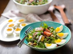 The secret to a perfect Niçoise salad: stop composing it and mix it all up!