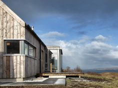 The Long House - Rural Design Architects - Isle of Skye and the Highlands and Islands of Scotland Space Architecture, Residential Architecture, Architecture Details, Building Photography, Long House, Timber Buildings, Forest House, Sustainable Design, Sustainable Living