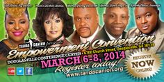 Get empowered for FREE during these general sessions! www.tandacanion.org