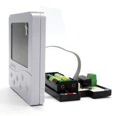Manual de instrucciones idioma Inglés ruso Caldera Termostato De La Calefacción Digital, batería powered controlador de temperatura (B702)