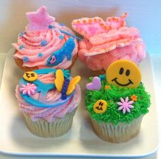 Spring Cupcake Decorating Class...what you can make by going to 350 Classic Bakeshop in Mamaroneck , NY