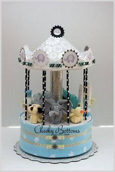 """This """"Elephant & Pals"""" Carousel was featured at an former colle.... *** See even more by clicking the picture"""