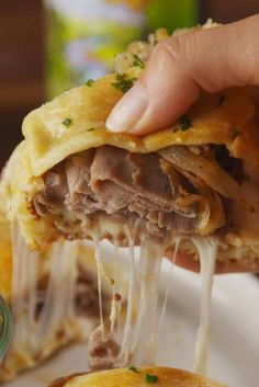 37 New Year's Eve Appetizers - French Dip Crescent Vertical New Year's Eve Appetizers, Appetizer Recipes, Party Appetizers, Appetizer Ideas, Party Dips, Party Party, Beef Recipes, Cooking Recipes, Dip Recipes