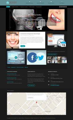 Diseño web para el servicio de diagnóstico por imágenes bucomaxilofacial de la dr.a Natalia Vallejos de Resistencia, Chaco, Argentina