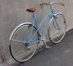 A recently built up Ebisu single speed road bike