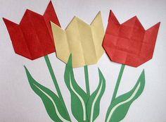 Tulp vouwen
