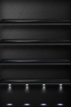 Elegant iPhone Shelf by LiLmEgZ97.deviantart.com