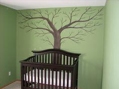 Image detail for -Nursery Tree Mural
