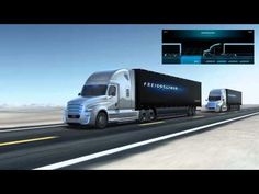 Freightliner Introduces a Prototype Commercial Semi-Trailer Truck That Can Drive Autonomously on the Highway