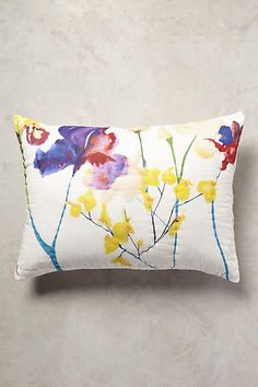 Anthropologie EU Garden Chinoiserie Pillowcases