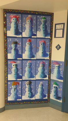 Oil pastel snowmen at night - Art Education ideas Christmas Art Projects, Winter Art Projects, Snowflake Drawing Easy, Snowmen At Night, Classe D'art, Snowflakes Art, Atelier D Art, 4th Grade Art, Ecole Art
