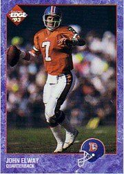 1993 Collector's Edge #59 John Elway by Collector's Edge. $2.00. 1993 Collector's Edge trading card in near mint/mint condition, authenticated by Seller