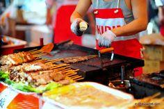 Yakitori- Japanese street food cannot be beat.