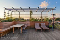 Residential Roof deck, Architectural Photography